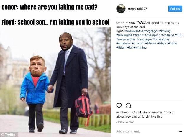 Floyed Mayweather Conor McGregor memes 2 (1)