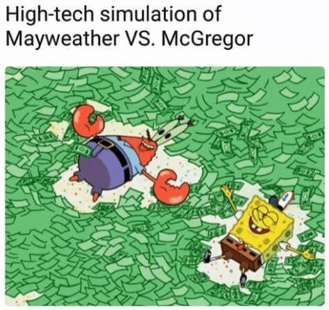 Floyed Mayweather Conor McGregor memes 9 (1)