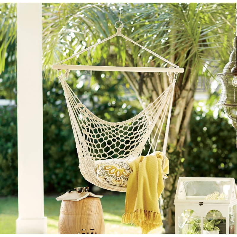 Parker+Woven+Cotton+Chair+Hammock