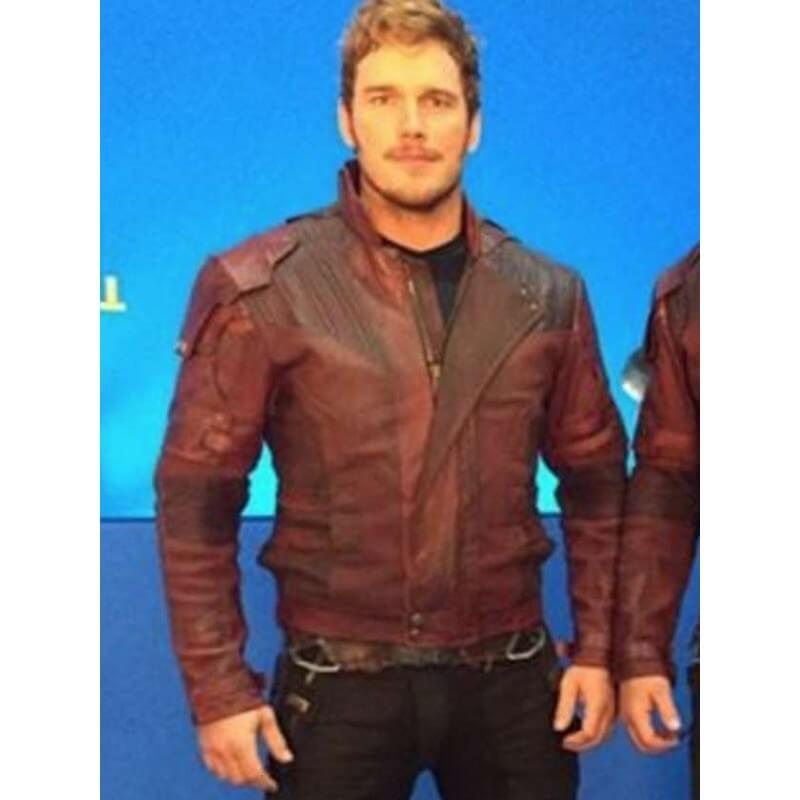 STARLORD LEATHER JACKET FROM GUARDIANS OF GALAXY VOL 2 (1)