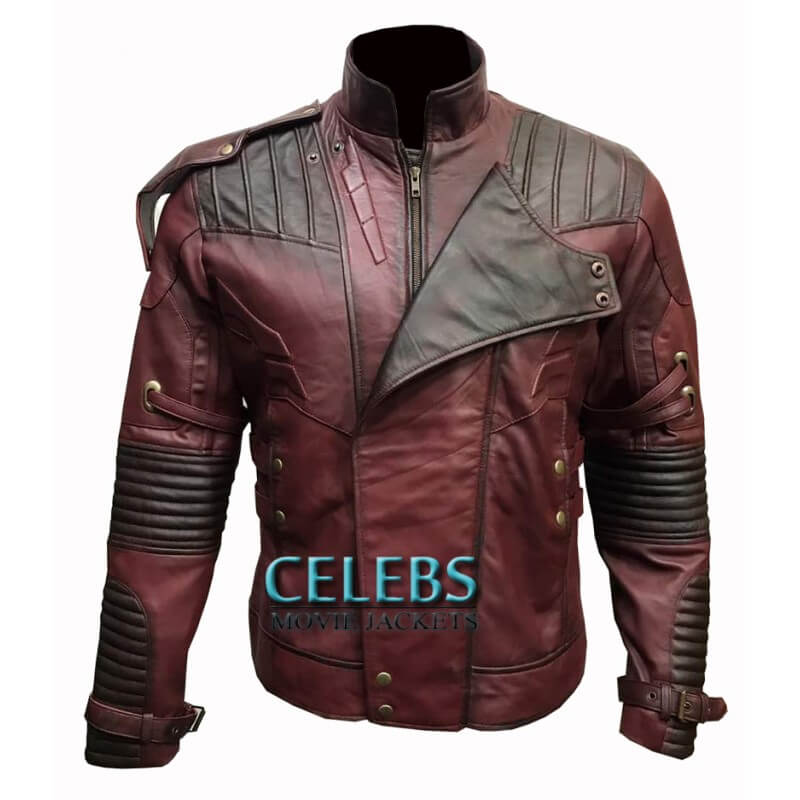 STARLORD LEATHER JACKET FROM GUARDIANS OF GALAXY VOL 2 2 (1)