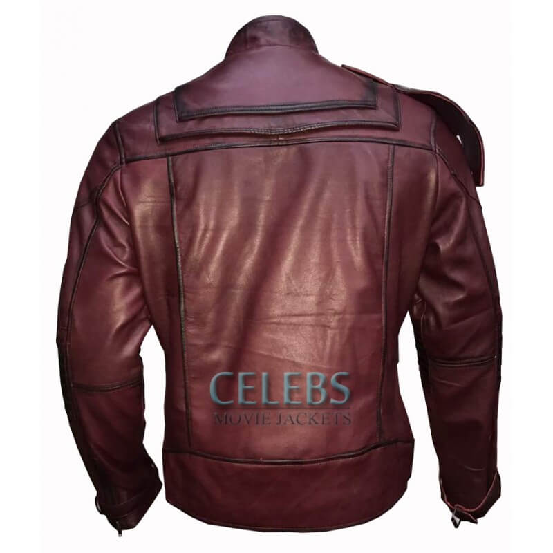 STARLORD LEATHER JACKET FROM GUARDIANS OF GALAXY VOL 2 3 (1)
