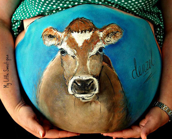 baby belly paintings 17 (1)