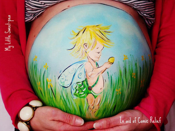baby belly paintings 18 (1)