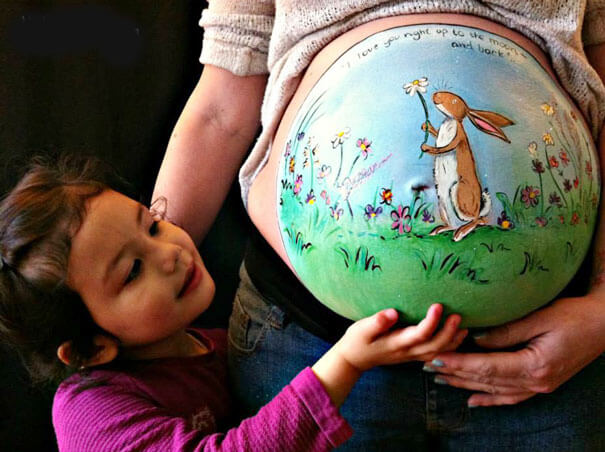 baby stomach paintings 21 (1)