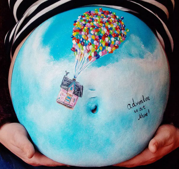 baby bump paintings 3 (1)