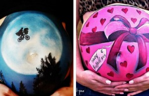 baby bump paintings feat (1)