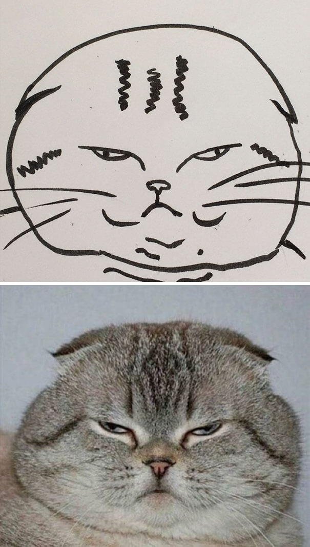 cat painting 10