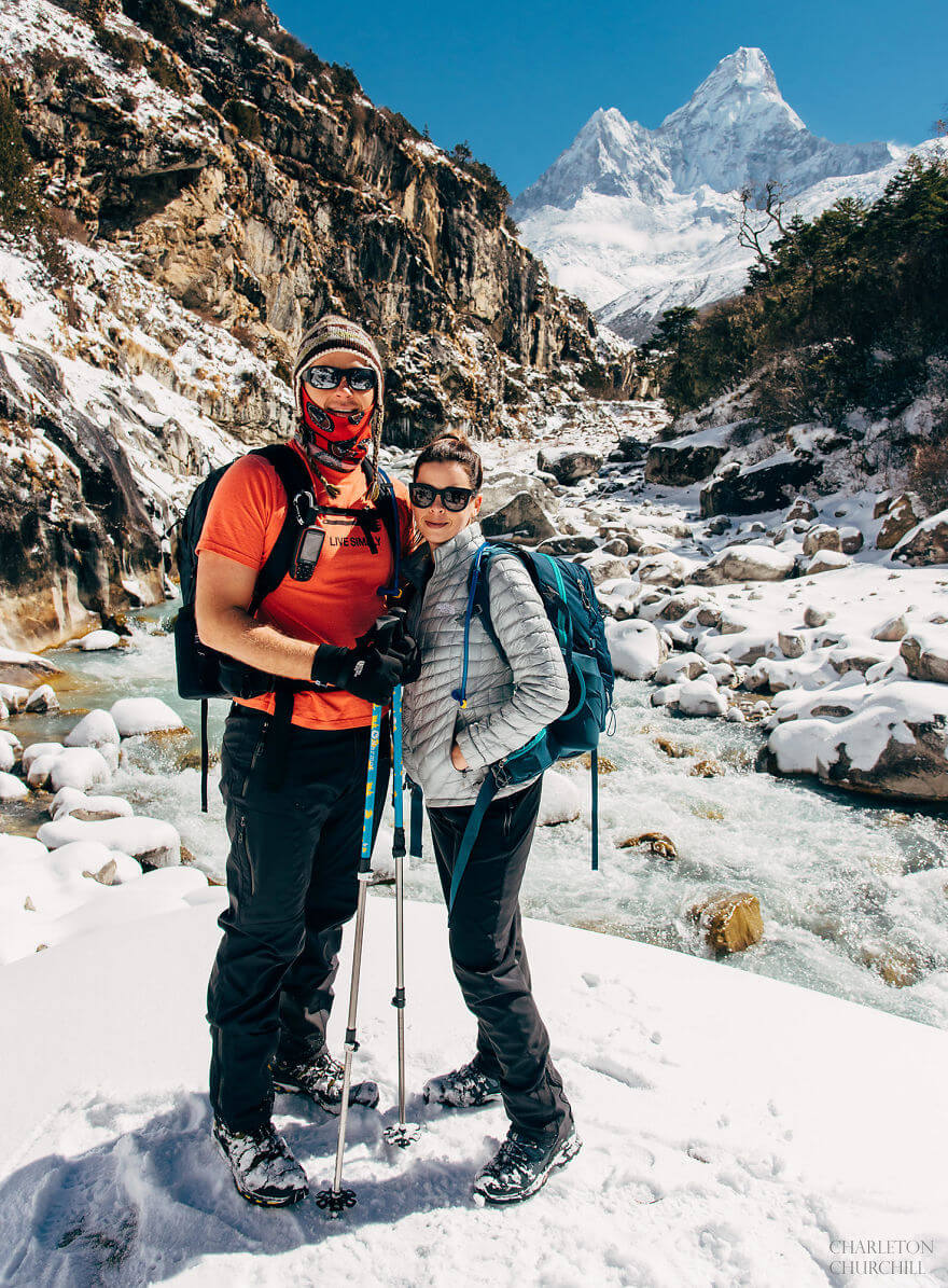 couple gets married on mount everest 15 (1)