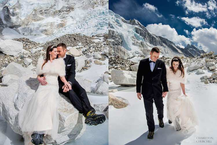couple gets married on mount everest 4 (1)