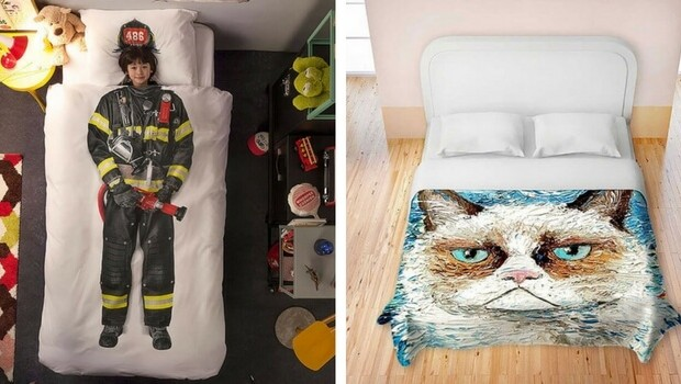 20 Funny Bed Sheets That Will Make All Your Dreams Come True