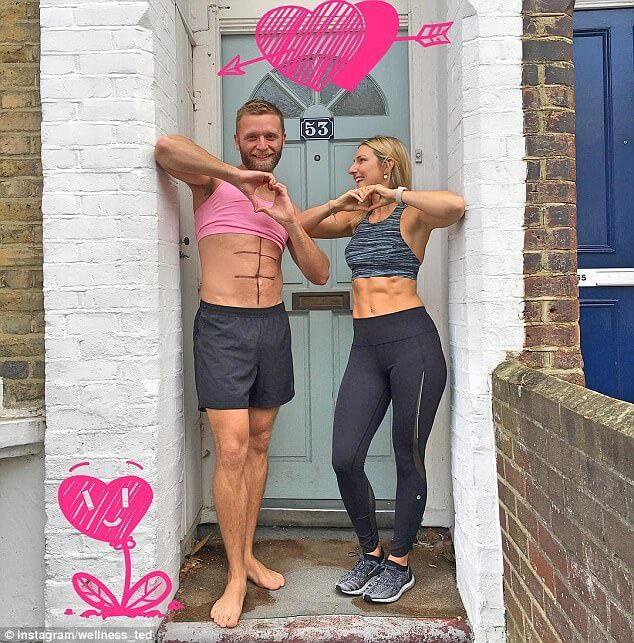 man mocks girlfriend instagram fitness photos (1)