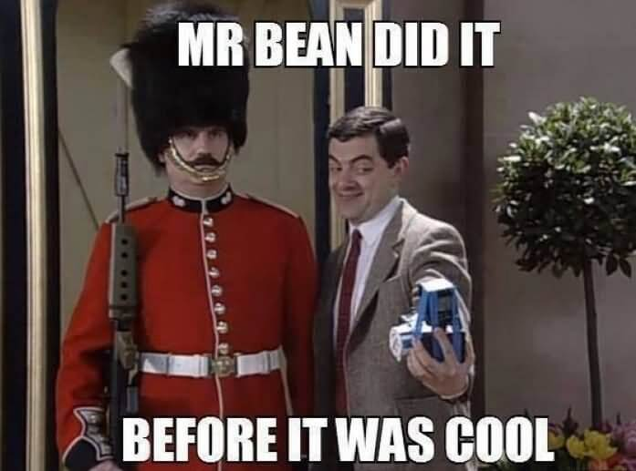 mr bean puns 22