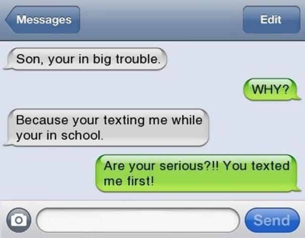 parents failed text 10