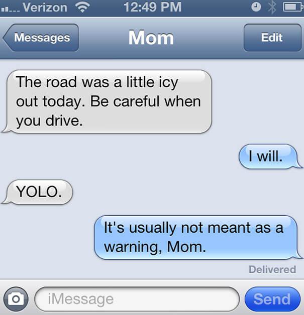 parents funny text 18