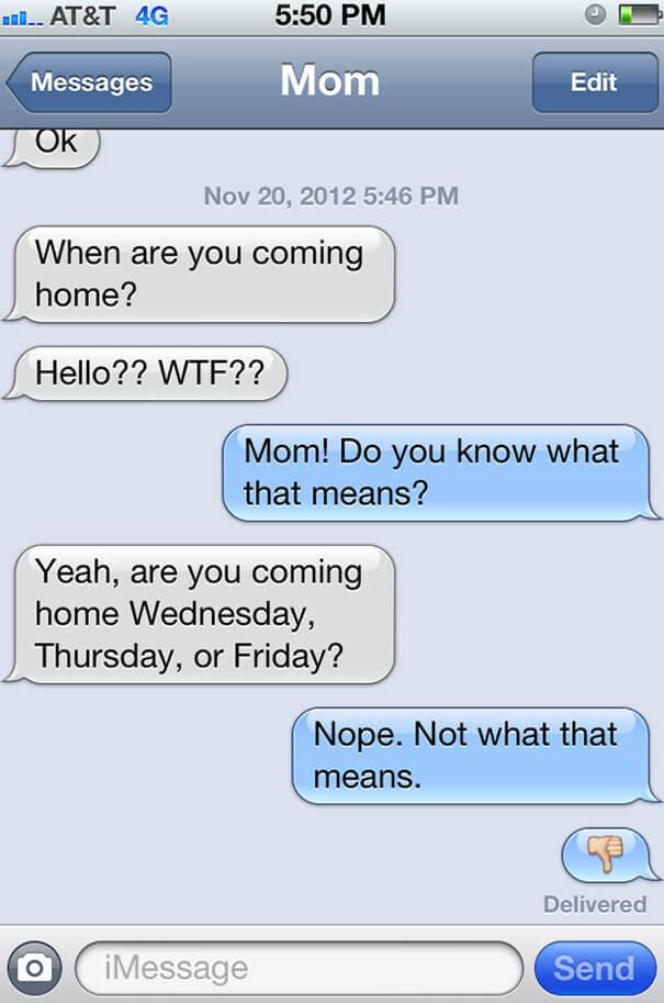 parents funny text 19
