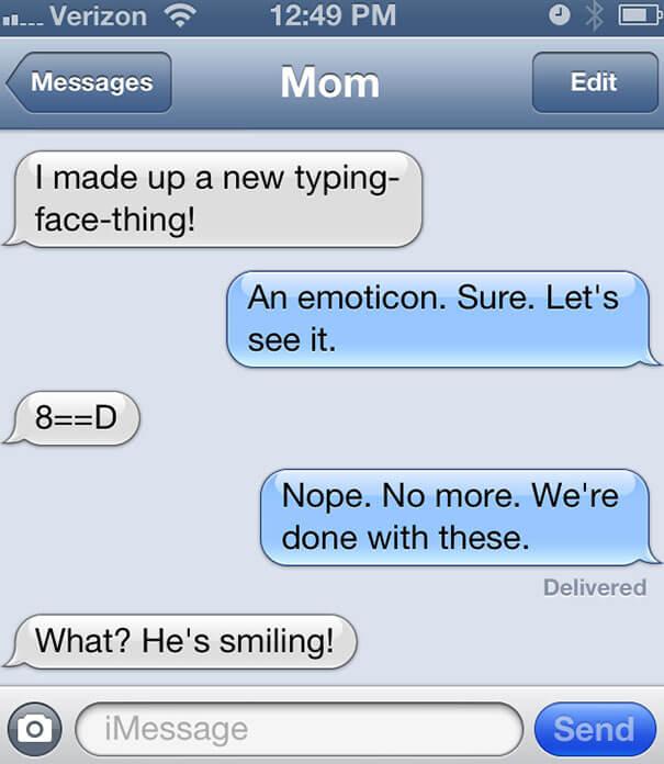 parents shouldn't text 2