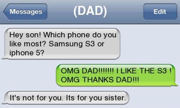 parents funny text 20