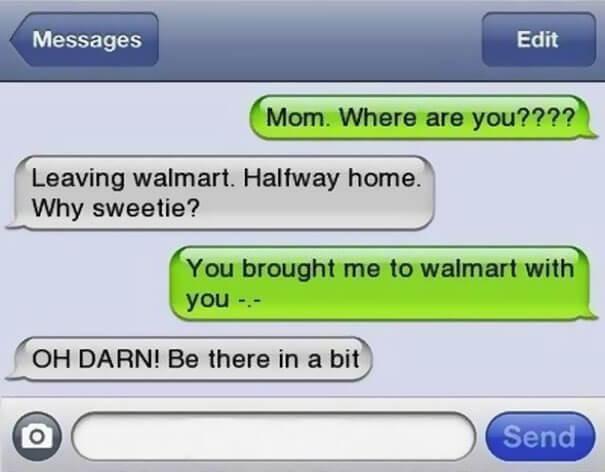 parents shouldn't text 22