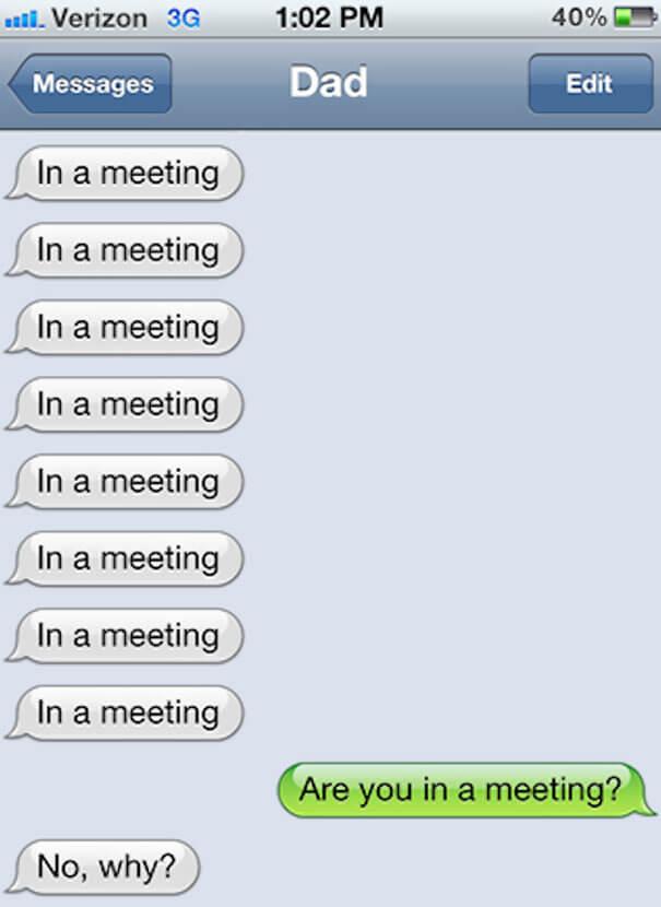 parents shouldn't text 3