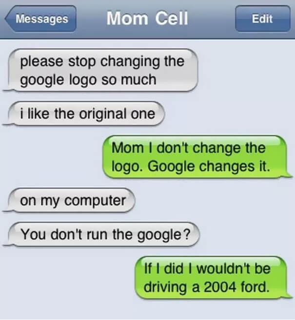 parents shouldn't sms 4