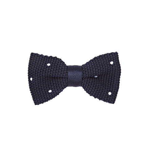 Penrose London Dotted Silk Bow Tie