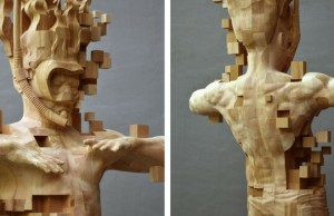 pixelated wooden sculpture feat (1)