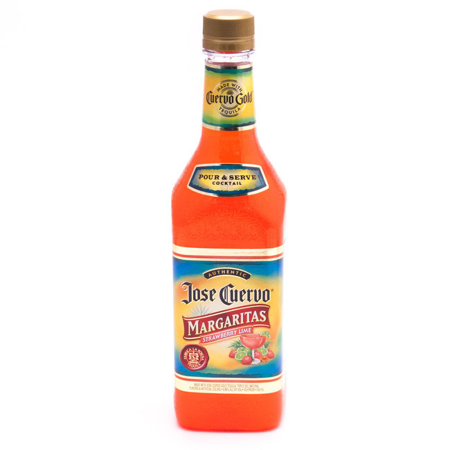 Jose Cuervo Margaritas Strawberry Lime - 19.9 Proof - 750ml