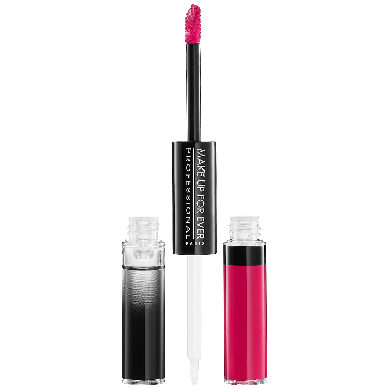 Make Up For Ever Aqua Rouge Liquid Lipstick In Fuchsia
