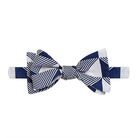 Thomas Pink Knighton Geo Bow Tie