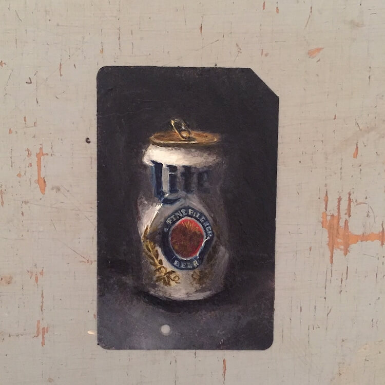 used metro cards miniature paintings 15 (1)