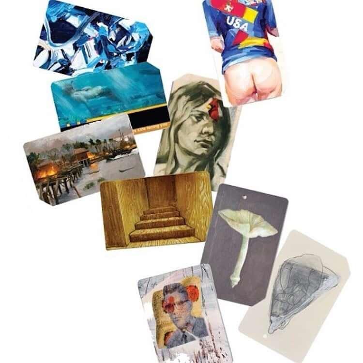 used metro cards miniature paintings 17 (1)