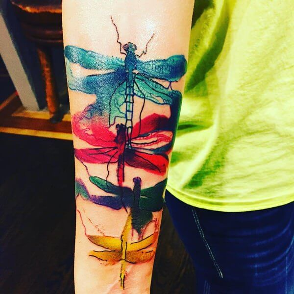 watercolour tattoo 11