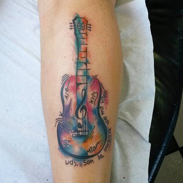 watercolor tattoos 25