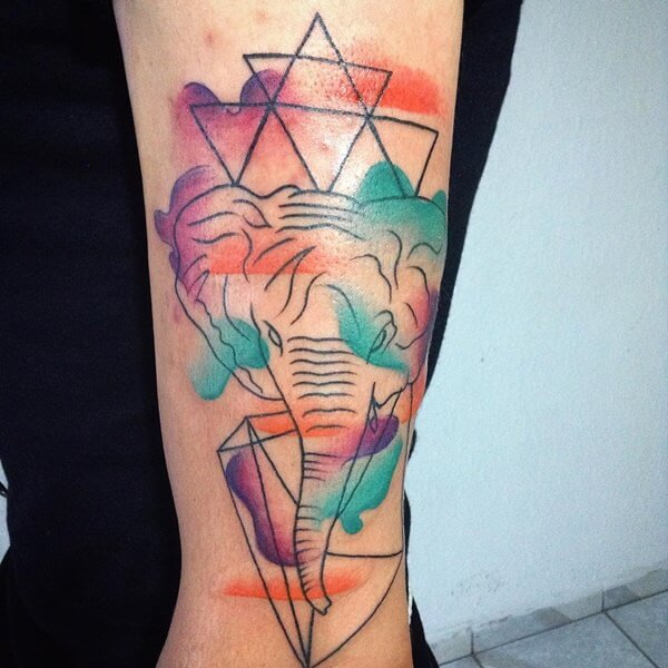 water based color tattoo 36