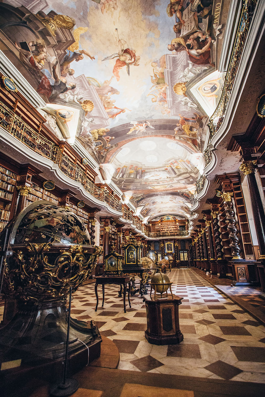 worlds most beautiful library klementinum library 2 (1)