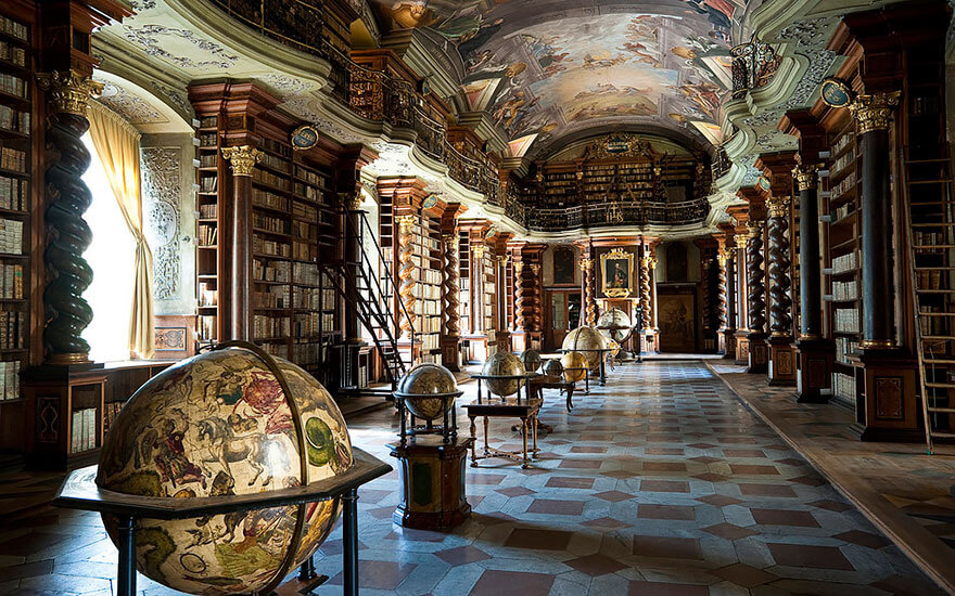 worlds most beautiful library klementinum library 4 (1)