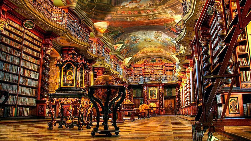 worlds most beautiful library klementinum library 6 (1)