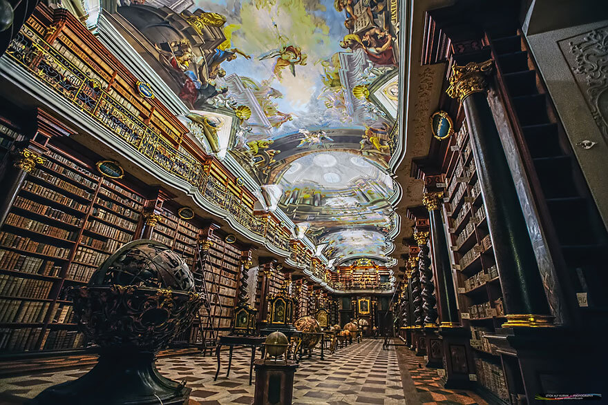 worlds most beautiful library klementinum library 7 (1)
