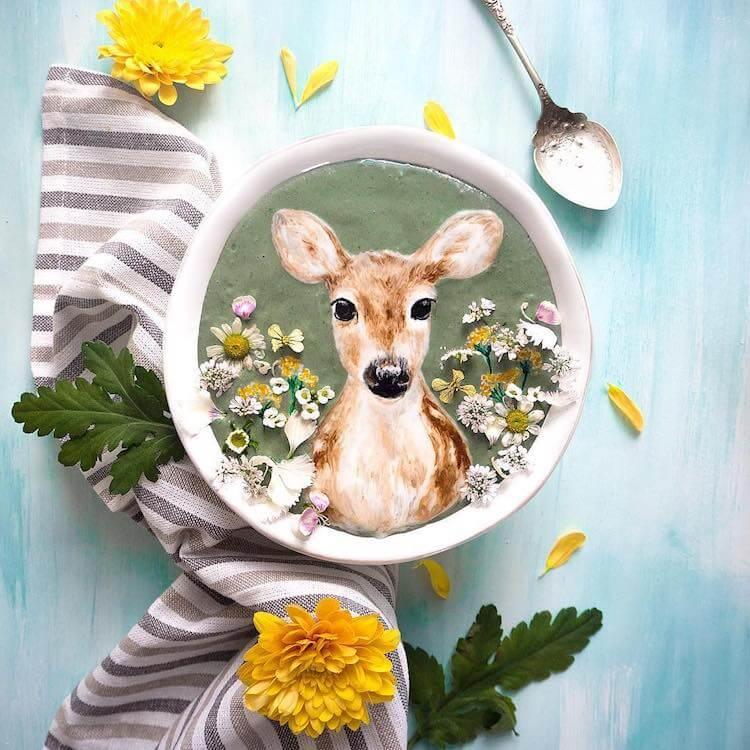 Beautiful Art on Smoothie Bowls 1 (1)