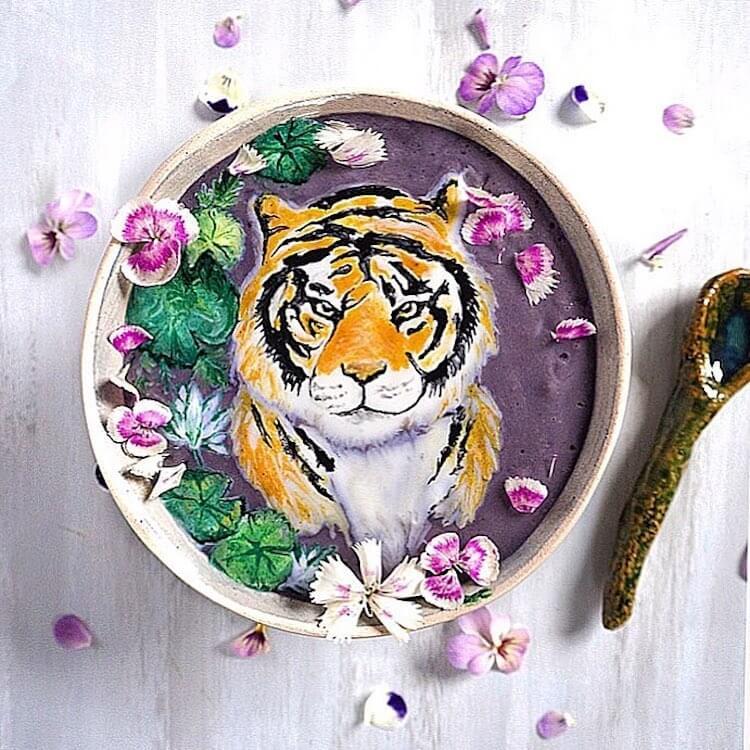 Beautiful Art on Smoothie Bowls 16 (1)