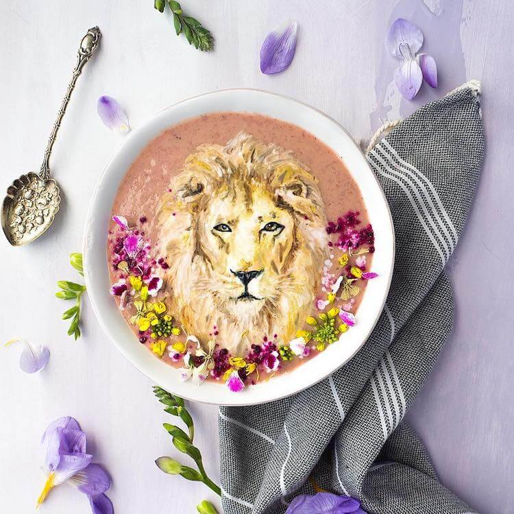 Beautiful Art on Smoothie Bowls 2 (1)