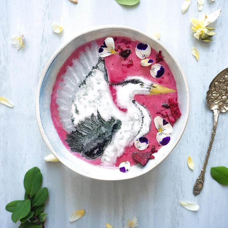 Beautiful Art on Smoothie Bowls 5 (1)