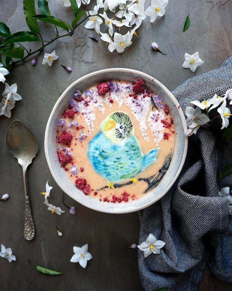 Beautiful Art on Smoothie Bowls 6 (1)