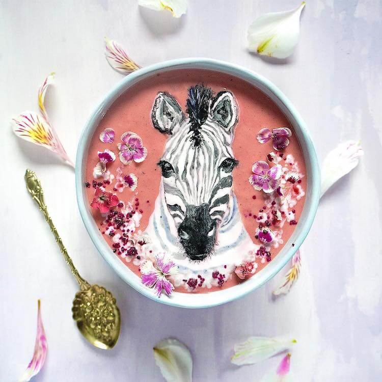 Beautiful Art on Smoothie Bowls 7 (1)