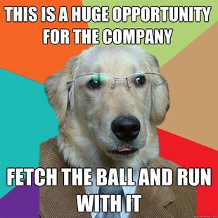 Business doggy Meme 14