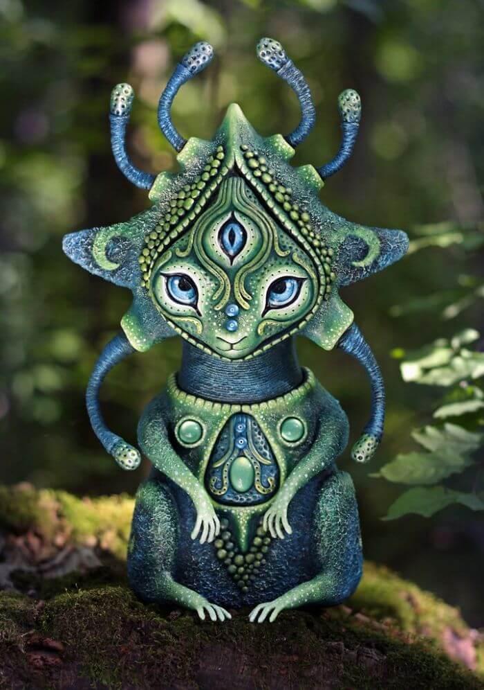 Maryana Kopylova cute mythical creatures (1)