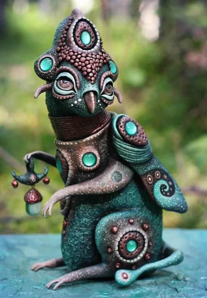 Maryana Kopylova cute mythical creatures 15 (1)