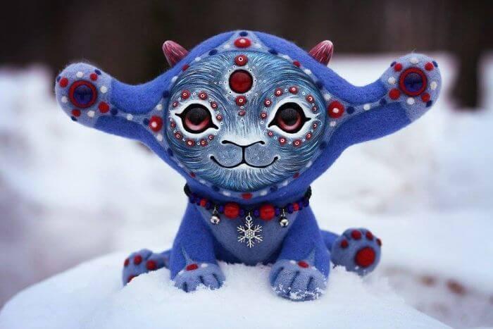 Maryana Kopylova cute mythical creatures 3 (1)