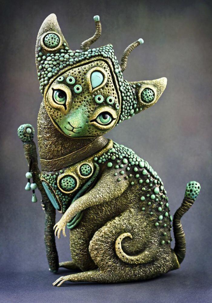 Maryana Kopylova cute mystical creatures 5 (1)